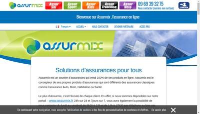 Site internet de Assurmix