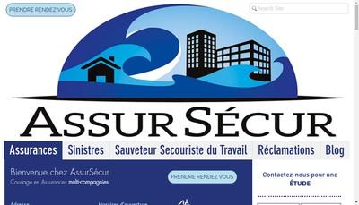 Site internet de Assursecur