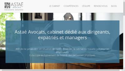 Site internet de Astae