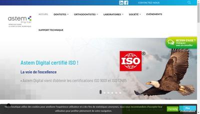 Site internet de Imagerie Dentaire