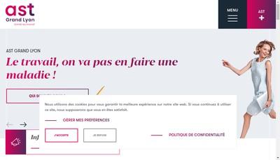 Site internet de AST Grand Lyon