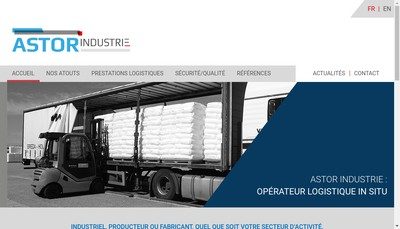 Site internet de Astor Industrie