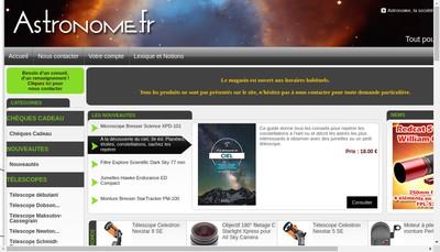 Site internet de L'Astronome