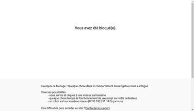 Site internet de Asturienne