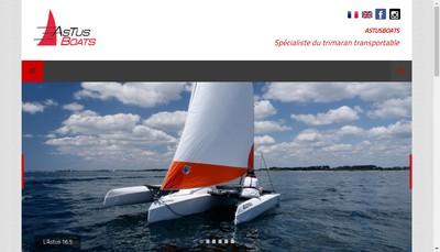 Site internet de Astusboats