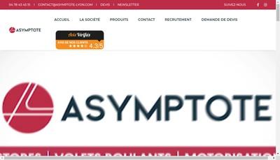 Site internet de Asymptote