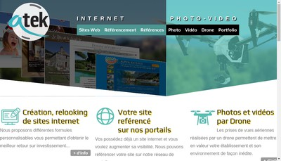 Site internet de Atek Studio