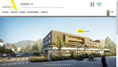 Site internet de Atelier a Lyon