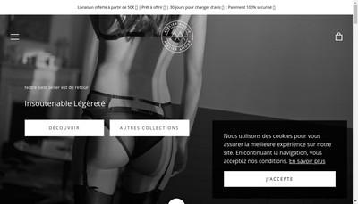 Site internet de Atelier Amour