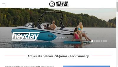 Site internet de Atelier du Bateau