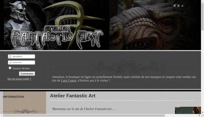 Site internet de Atelier Fantastic'Art