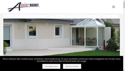Site internet de Atelier Richet