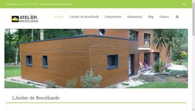 Site internet de Atelier de Broceliande