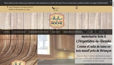 Site internet de Atelier de Roche