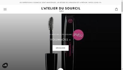 Site internet de L'Atelier du Sourcil