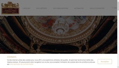 Site internet de Atelier Meriguet Carrere