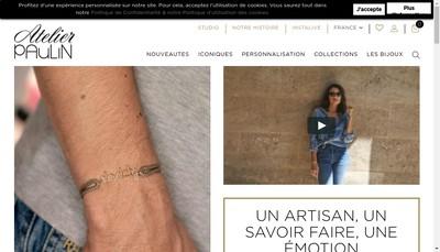 Site internet de Atelier Paulin