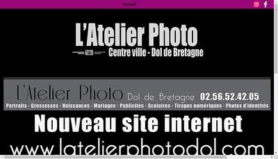 Site internet de L'Atelier Photo