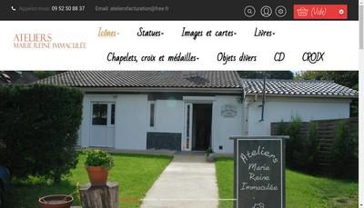 Site internet de Ateliers Marie Reine Immaculee