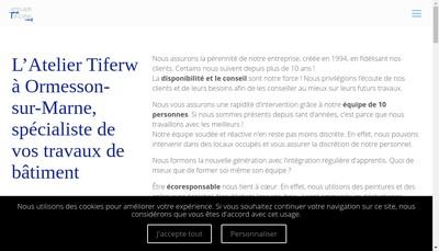 Site internet de Atelier Tiferw