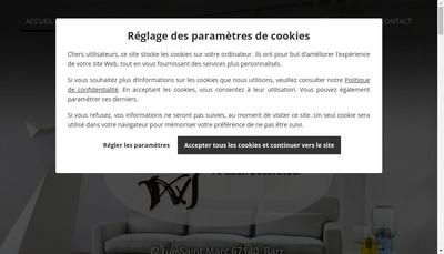 Site internet de Atelier Wingert