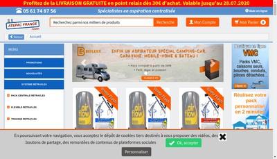 Site internet de ATEPAC