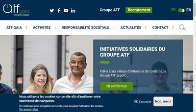 Site internet de Atf Gaia