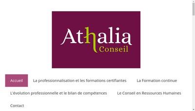 Site internet de Athalia