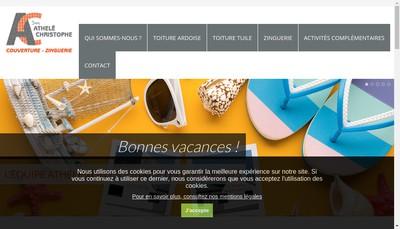 Site internet de Athele Christophe