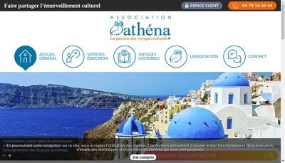 Site internet de Athena
