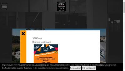 Site internet de Athletic Gym