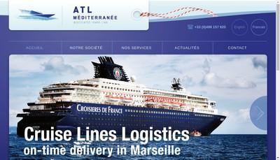 Site internet de Associated Trans Link Mediterranee