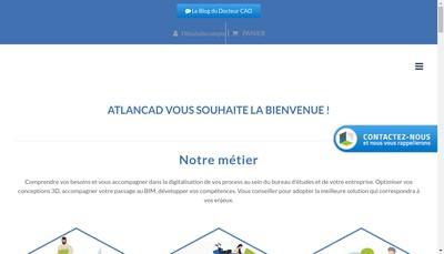 Site internet de Atlancad