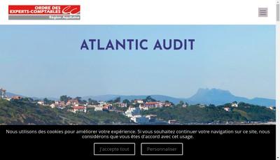 Site internet de Atlantic Audit