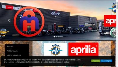 Site internet de Atlantic Motos