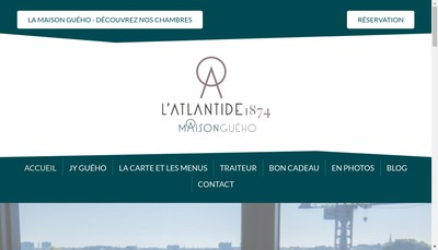 Site internet de L'Atlantide