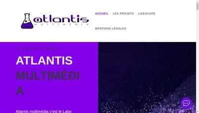 Site internet de Atlantis Multimedia