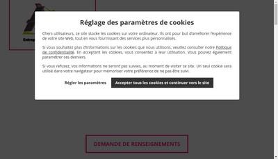 Site internet de Atm Construction