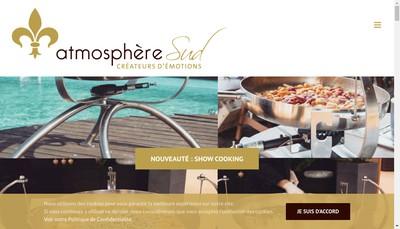 Site internet de Atmosphere Sud