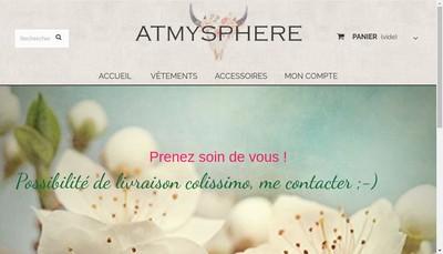Site internet de Atmysphere