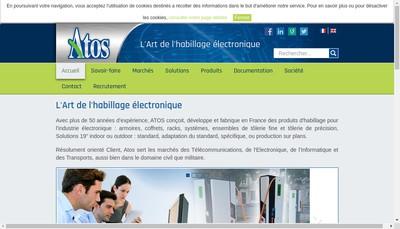 Site internet de Atos