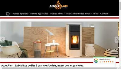 Site internet de Atout Flam