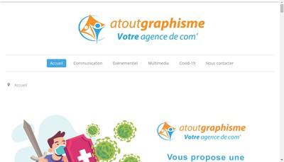 Site internet de Atout Graphisme