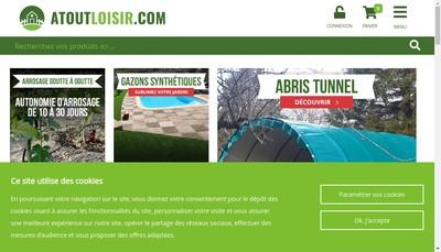 Site internet de Atout Loisir