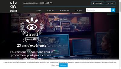 Site internet de SARL Atreid