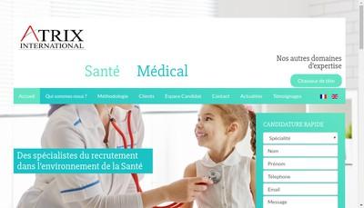Site internet de Atrix