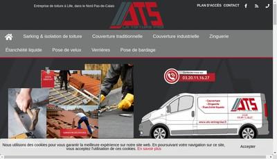 Site internet de Alonso Toiture Services