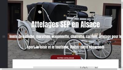 Site internet de Attelages Sep et Ou S Maninchedda