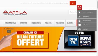 Site internet de Attila Systeme