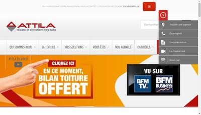 Site internet de Attila Angouleme-Est